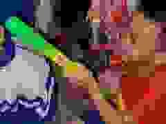 Trung thu đến sớm với trẻ em biên giới xứ Nghệ.
