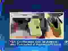 Hành khách bị bắt vì giấu vũ khí trong giày