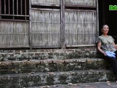 Cánh dại tre trong nếp nhà xưa ở nông thôn miền Bắc