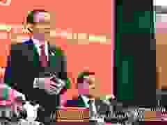 Bí thư Thành ủy TPHCM Nguyễn Văn Nên phát biểu sau Đại hội Đảng bộ TPHCM