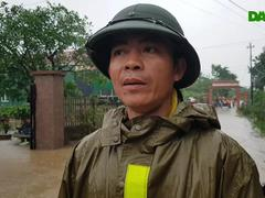 Nước dâng bất ngờ, người dân Quảng Trị hối hả chạy lũ