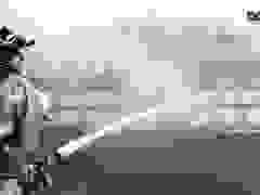 Hàng trăm cảnh sát phòng cháy chữa cháy diễn tập ở Hà Nội
