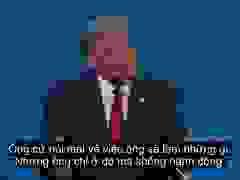 Ông Trump: Tôi ra tranh cử là bởi vì Joe Biden