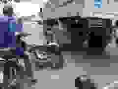 Người đàn ông thoát chết đầy may mắn dưới gầm xe tải