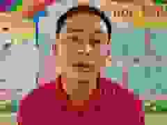 Thầy Dương Đình Dũng chia sẻ những gian nan khi cắm bản ở rẻo.
