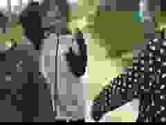 Clip nữ sinh đánh nhau được đăng tải trên mạng xã hội.