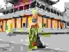 Thái Thị Hoa đạt giải nhất Trang phục Dân tộc tại Hoa hậu Trái Đất
