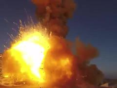 Video Nga thử thành công tên lửa đánh chặn mục tiêu từ không gian