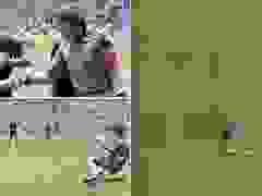 Tình huống Maradona qua mắt trọng tài dùng tay ghi bàn ở World Cup 1986
