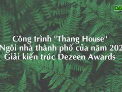 """Công trình """"Thang House"""""""