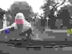 Không nhìn đường, thanh niên chạy xe máy lao thẳng vào ô tô ngược chiều