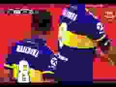 Con gái Maradona òa khóc khi chứng kiến hình ảnh tri ân người cha