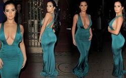 Demi Rose quyến rũ với váy xanh