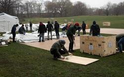 New York lập bệnh viện dã chiến ở Central Park