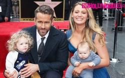 Ryan Reynolds & Blake Lively khoe 2 con đáng yêu