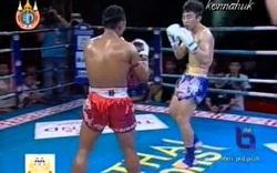 Thách đấu võ sĩ Muay Thái, võ sĩ Trung Quốc nhận cái kết đắng