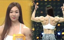 Choáng với cơ bắp cuồn cuộn của người đẹp thể hình Hàn Quốc