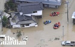 Mưa lớn bất thường gây ngập lụt nghiêm trọng tại Nhật Bản