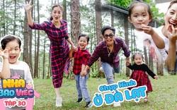 Gia đình Khánh Thi - Phan Hiển tại Đà Lạt