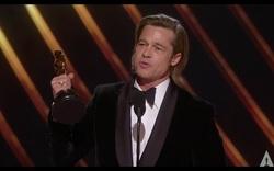 Brad Pitt giành giải Oscar