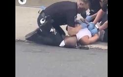 Thêm video cảnh sát ghì đầu người da màu tại Mỹ