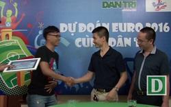 """Trao thưởng """"Dự đoán Euro 2016 cùng Dân trí"""" lần cuối cùng"""