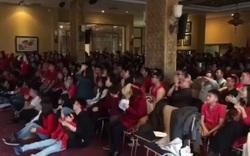 Du học sinh Việt tại Đức cuồng nhiệt cùng U23 Việt Nam
