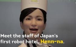 Khám phá khách sạn robot đầu tiên trên thế giới ở Nhật Bản