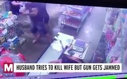 Chĩa súng vào đầu vợ bóp cò, không ngờ kẹt đạn tới 4 lần
