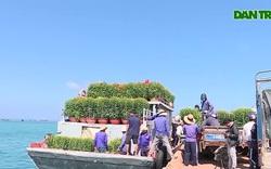 Chở Tết ra đảo tiền tiêu Lý Sơn