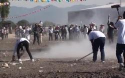 """Lễ hội """"Búa nổ"""" khiến 43 người bị thương ở Mexico"""