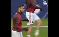 Man Utd khởi động trước trận derby với Man City