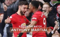 Thống kê trận Man Utd thắng 2-0 Man City