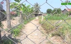 Phú Yên: Người dân bức xúc vì bị rào đường, chắn lối đi