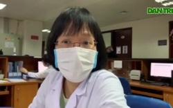 Bác sĩ Võ Thị Thanh Bình chia sẻ tình trạng của cậu bé Phan Văn Trường