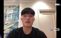 Các cầu thủ Việt Nam đưa ra thông điệp giữa mùa dịch Covid-19