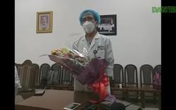Phần thưởng lớn nhất của bác sĩ là bệnh nhân mắc Covid-19 được xuất viện