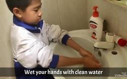 Học sinh tiểu học Tuyên Quang làm video tuyên truyền chống dịch Covid-19