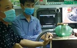 Chuẩn bị thử nghiệm máy trợ thở khẩn cấp cho bệnh nhân Covid-19
