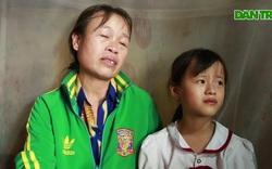 Con gái lớp 4 ôm mẹ khóc xin mẹ đừng chết