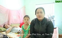 Chị Nguyễn Thị Thùy Trang chia sẻ về hoàn cảnh gia đình