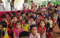 Khánh thành điểm trường tại xã miền núi Quảng Trị