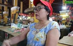 Tiểu thương chia sẻ về giá thịt ở mức cao khiến buôn bán ế ẩm