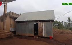 Phòng học tạm bợ ở điểm trường A Lao