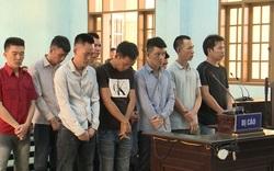 Các đối tượng tham giai vụ vận chuyển gỗ khủng bị xét xử tại tòa án