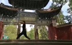 Buổi tập của võ sư Hà Hưng Quả