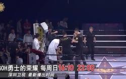 Võ sĩ Trung Quốc lên gối khiến đối thủ bất tỉnh