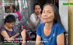 Cơ cực cảnh mẹ già sống lay lắt nuôi 2 đứa con tâm thần