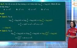 Ôn tập môn thi Toán tốt nghiệp THPT 2020: Một số dạng toán thường gặp về Lôgarit