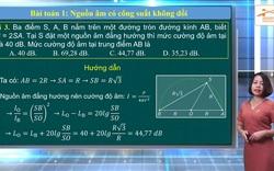 Ôn tập môn Vật lý thi tốt nghiệp THPT năm 2020: Sóng Âm